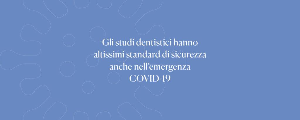 DENTALPLUS studio dentistico - Emergenza COVID-19: è sicuro andare dal dentista?